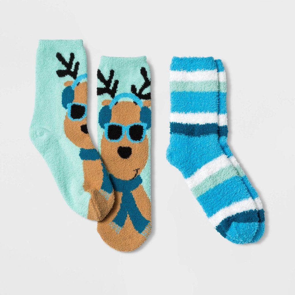 50+ gifts under $15 for kids: Cozy holiday sock sets with a gift card holder