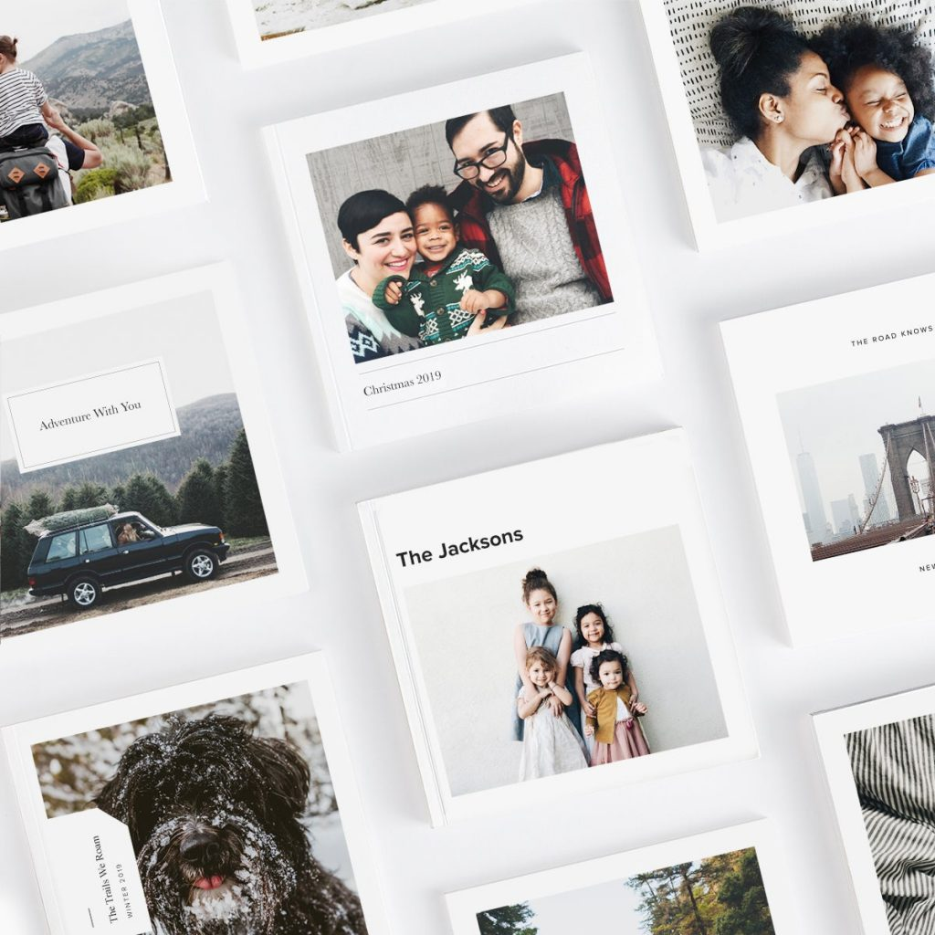 50+ cool gifts under $15 for men and women: Custom mini photo book from Artifact Uprising