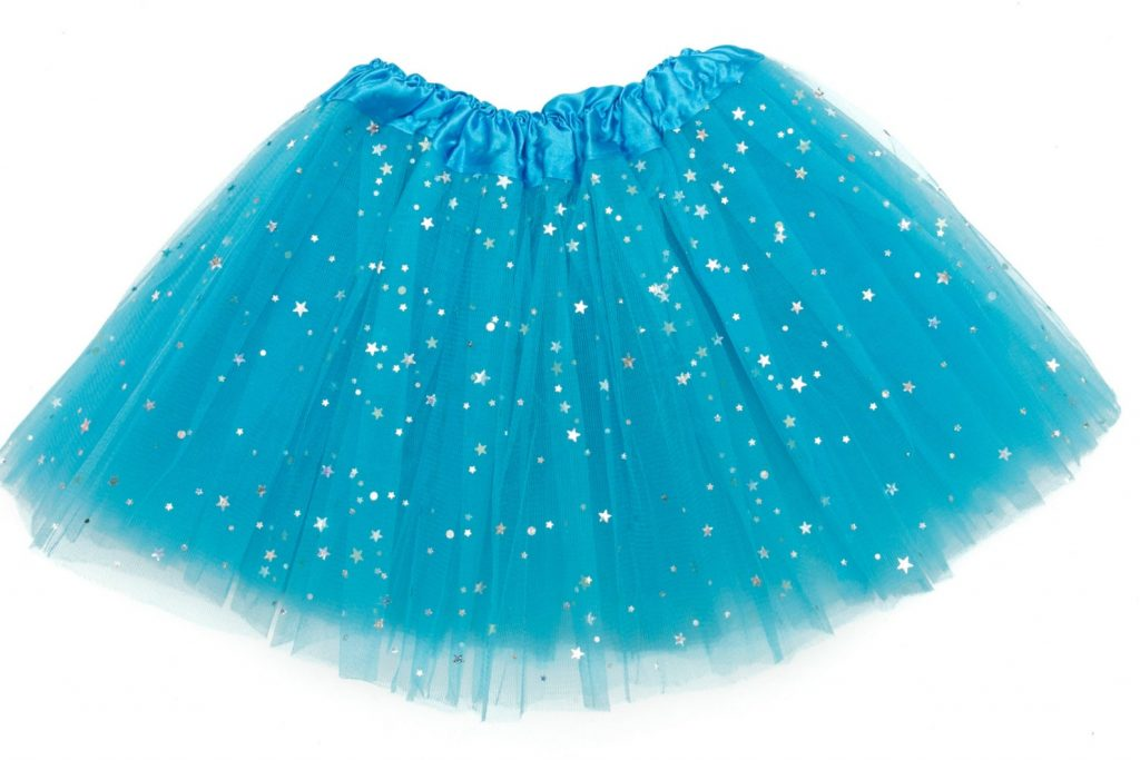 Gifts for kids under $15: Girls sparkle tutu handmade by Ingrid Elizabeth on Etsy