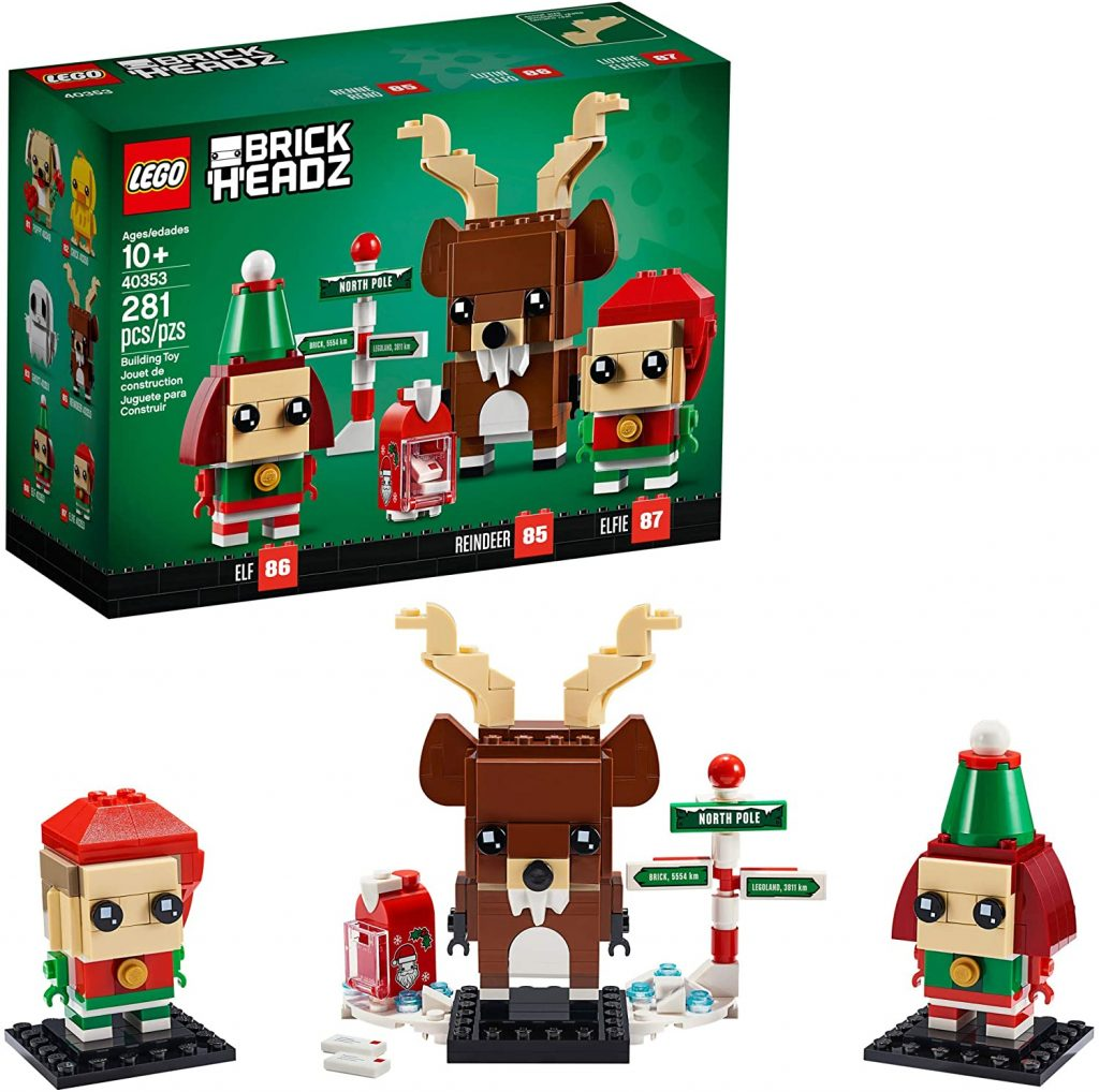 50+ gifts under $15 for kids: LEGO Brickheadz Christmas set