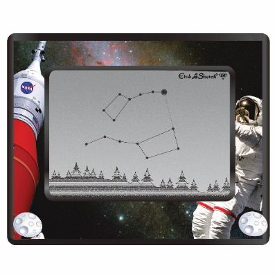 50+ gifts under $15 for kids: Limited edition NASA etch a sketch