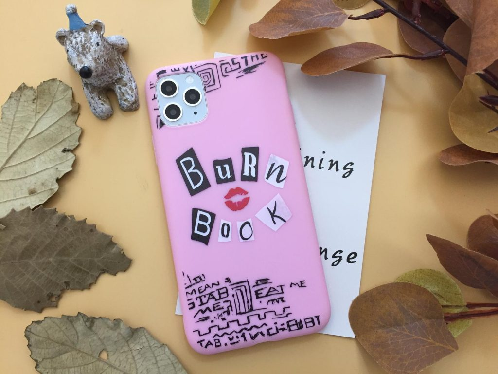 50+ gifts under $15 for kids: Mean Girl Burn Book phone case