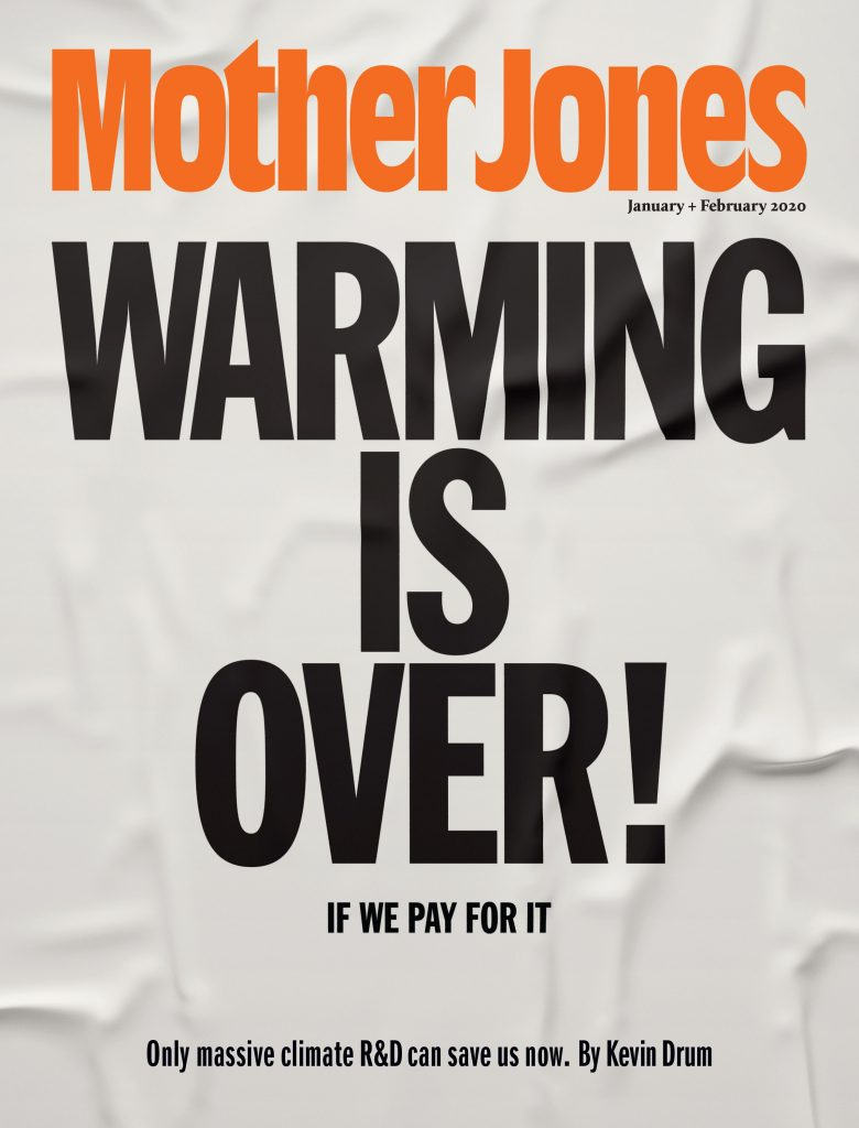 A subscription to Mother Jones