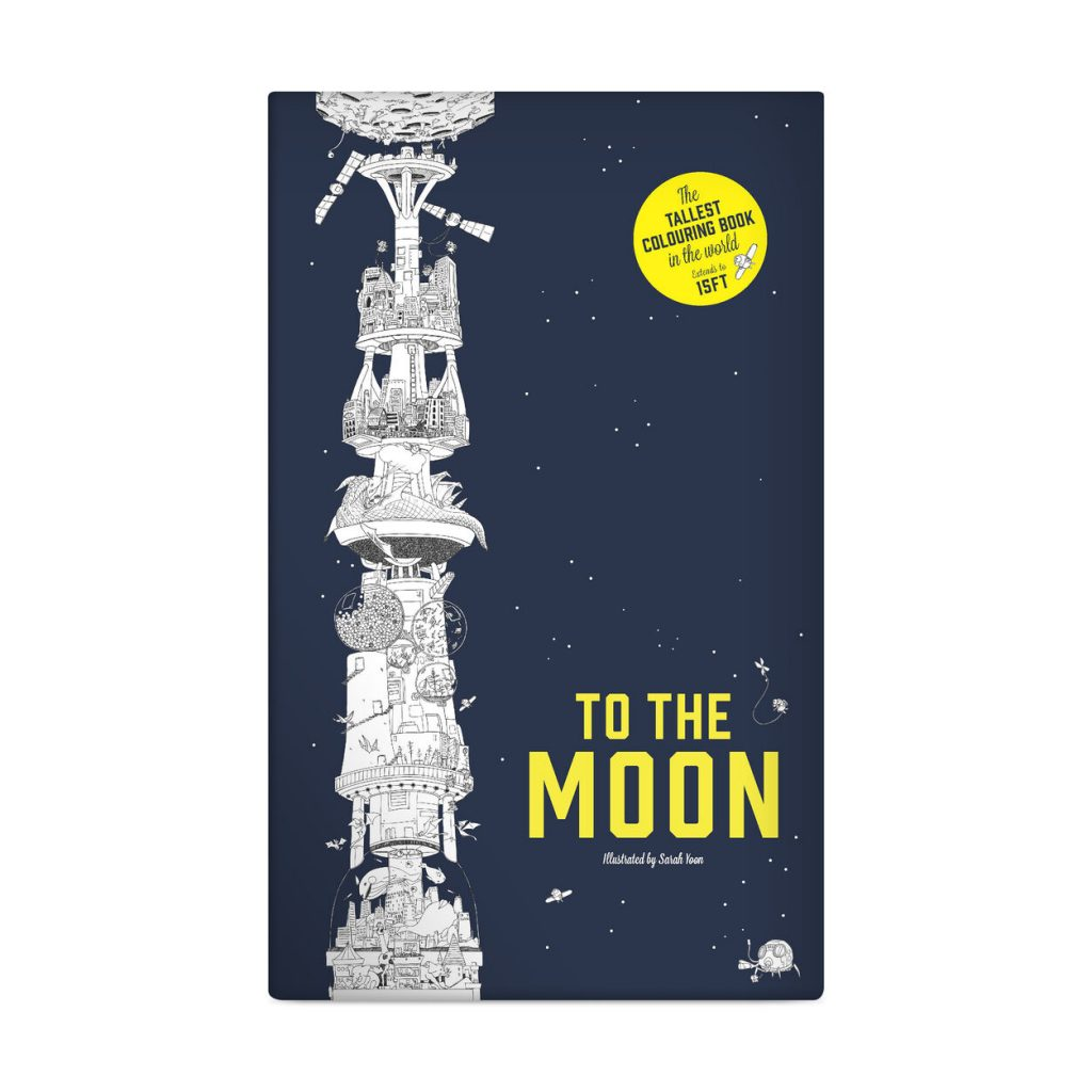 50+ gifts under $15 for kids: To the Moon world's longest fold-out coloring book