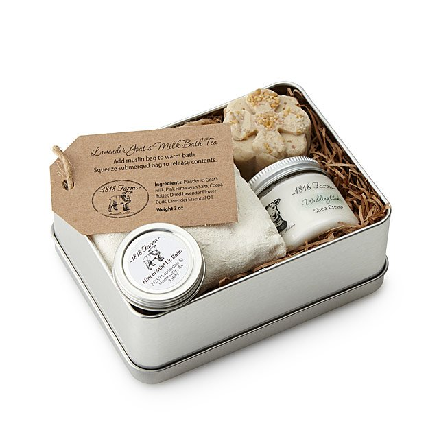 Pamper your friend for Valentine's Day with this Farm Fresh Spa Experience Tin