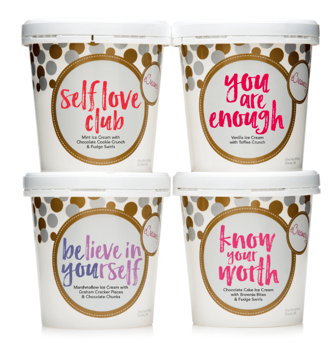 They'll scream for eCreamery's Galentine's Day ice cream collection