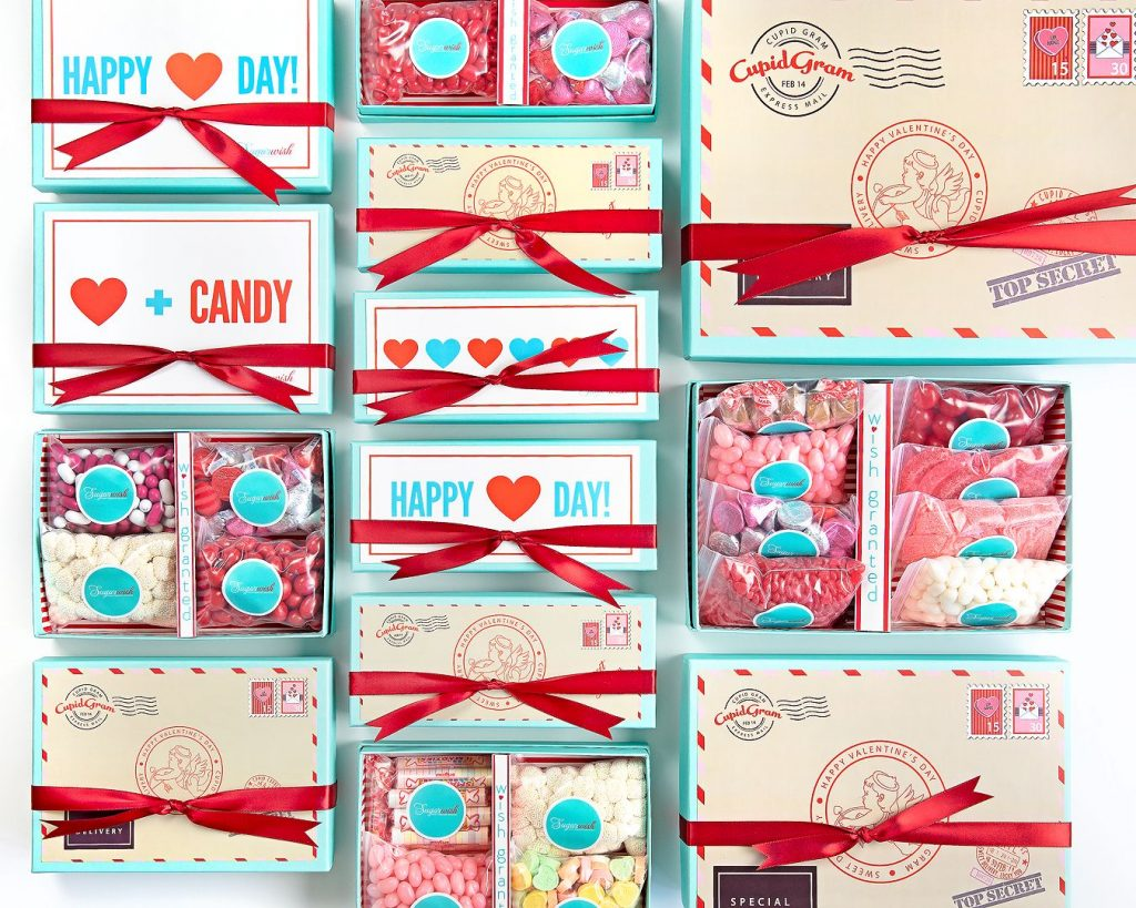 Give your friends Sugarwish candy and treats for Valentine's Day