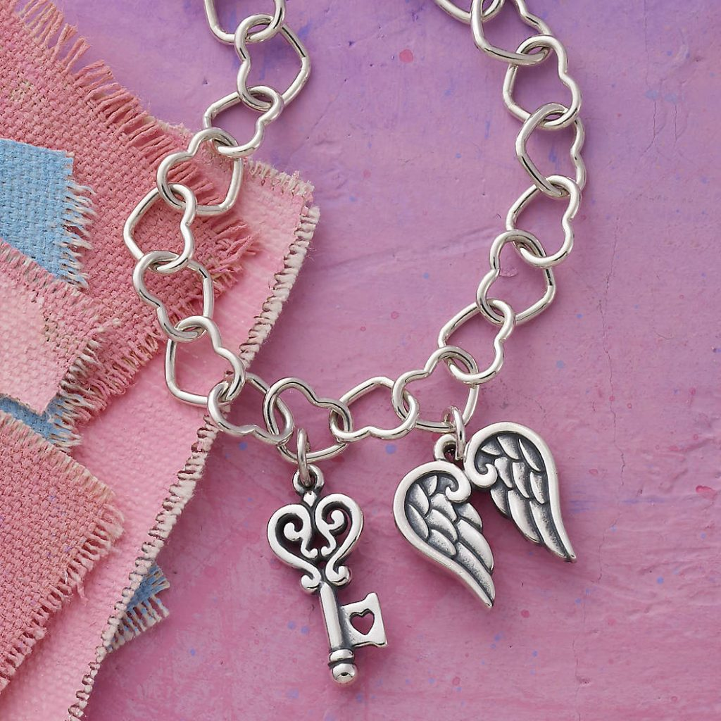 Creative adoption anniversary celebration ideas: Add to a collectible gift, like a charm bracelet, each year.
