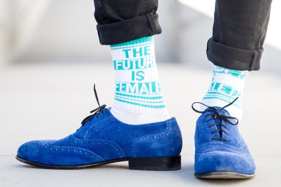 Everyone is flipping over Kamala Harris's cool socks, and we found them!