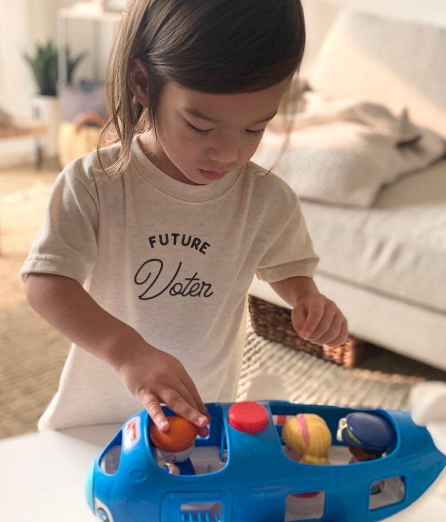 Best feminist baby gifts: Future voter tee or onesie
