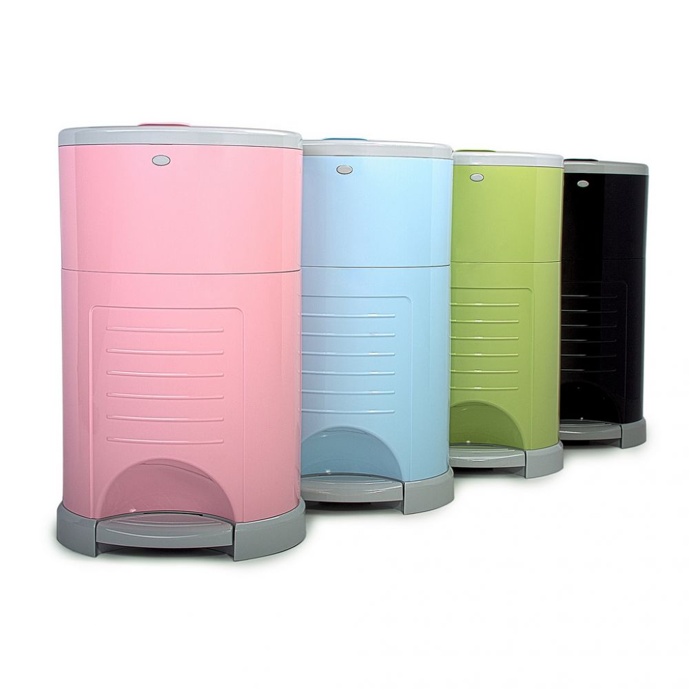 Best practical baby gifts: The Diaper Decor Plus smell-proof diaper pail is gorgeous too