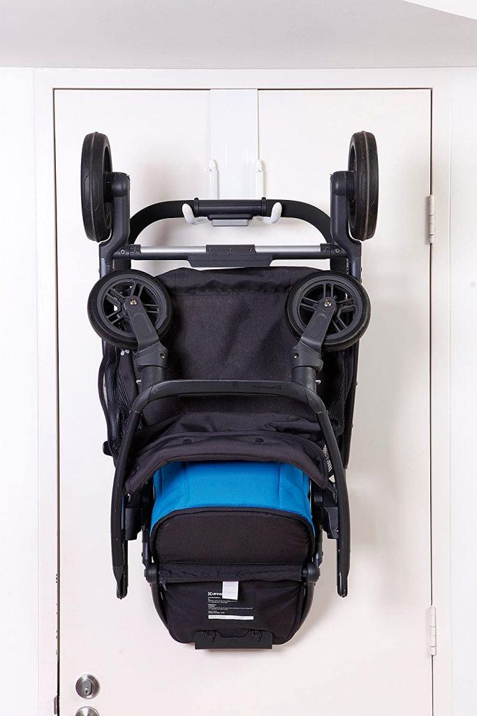 Unique baby gifts: StrollAway over the door stroller hanger
