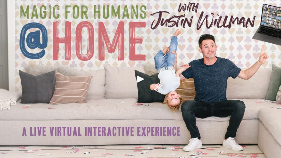 Add a little magic to your Valentine's Day with Justin Willman