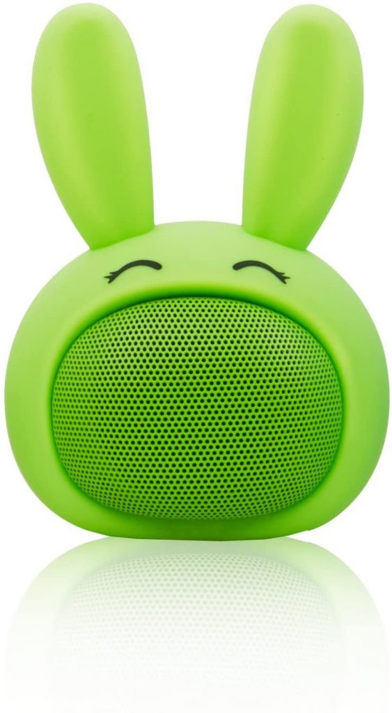 This adorable Bluetooth bunny speaker makes a great Easter gift for teens