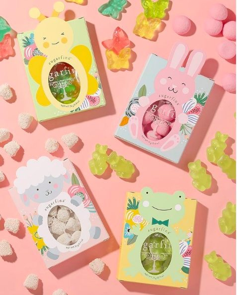 GIve you teen Sugarfina sample set for Easter