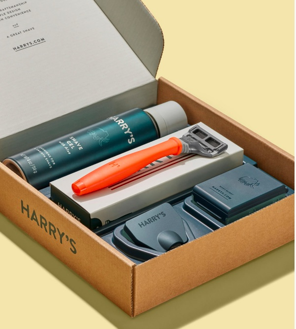 Harry's shave kit for teen boys makes a great Easter gift