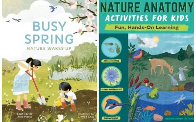 5 wonderful new books about spring for kids! YES, it's finally here!