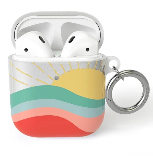 Here Comes the Sun Casely AirPod case for a teen's Easter gift