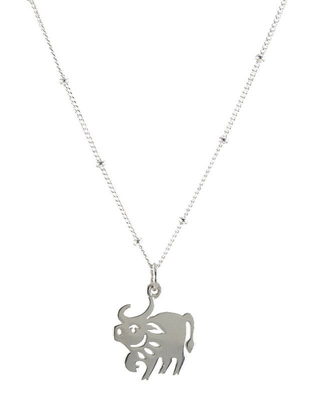 Peggy Li's sterling Year of the Ox necklace is raising money to help combat AAPI racism and hate crimes