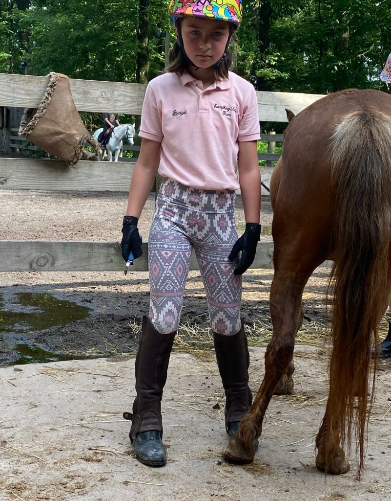 Life lessons from horseback riding: Learning responsibility © Kristen Chase