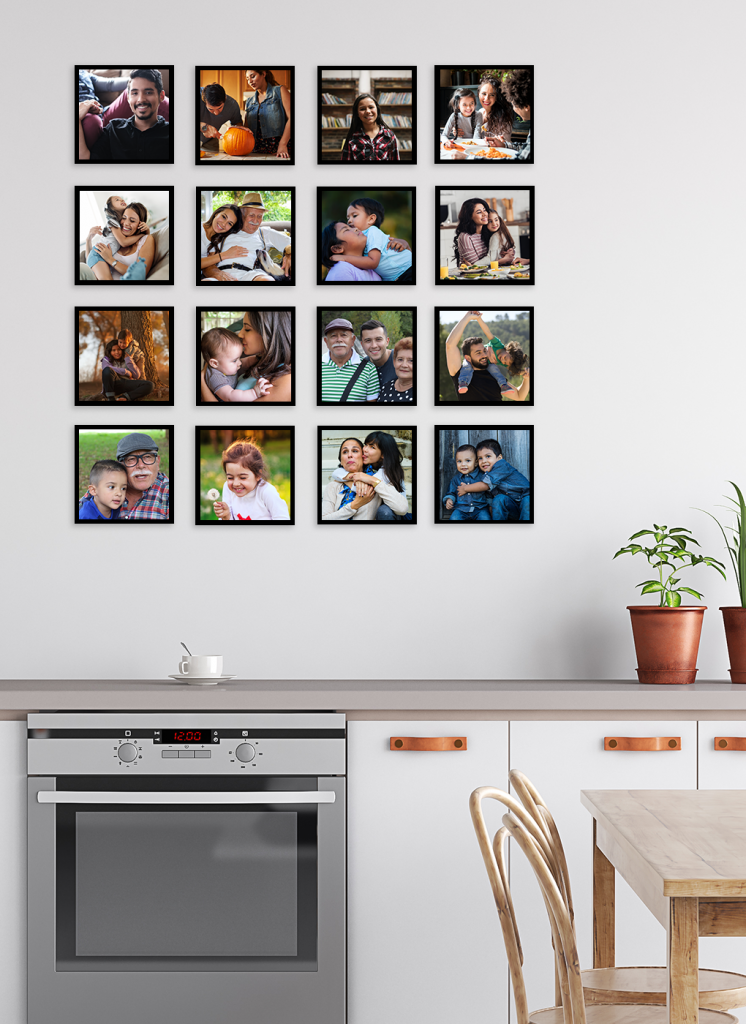 Mother's Day gift idea: Use your Instagram photos to make a cool wall art piece with TilePix | sponsor