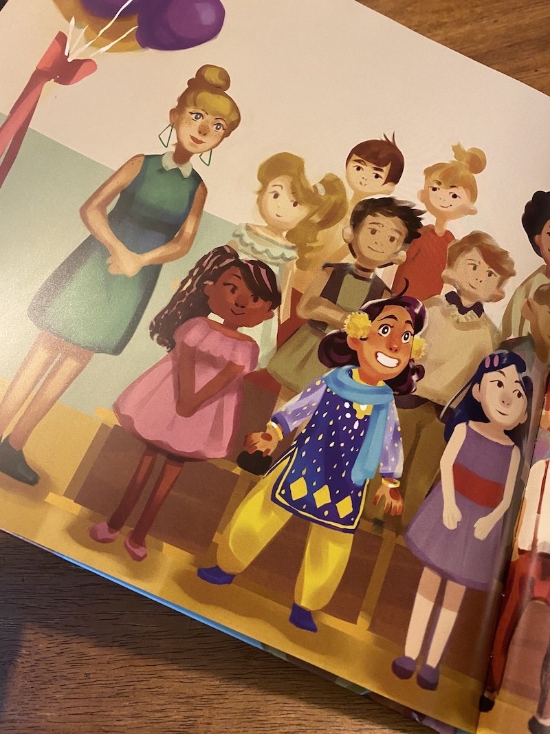 What happens when Eid falls on class picture day? A lovely picture book about Eid for kids in Amira's Picture Day