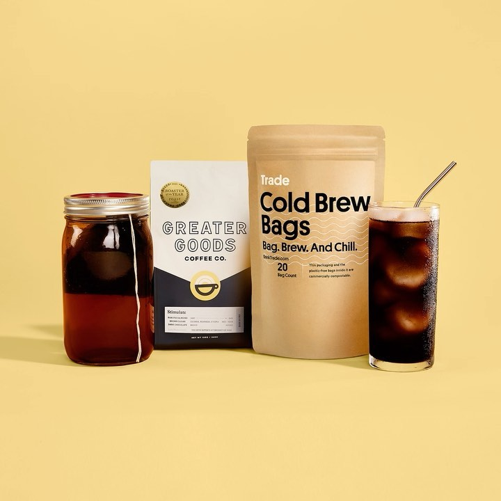 New cold brew supplies from trade coffee (and how to get your first bag for 50% off! (partner)