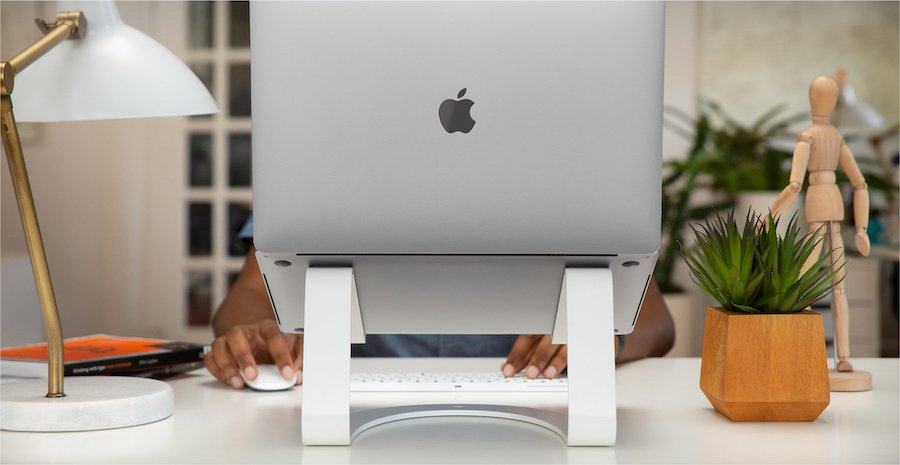 Home office gifts for mom: A pretty laptop stand at Twelve South