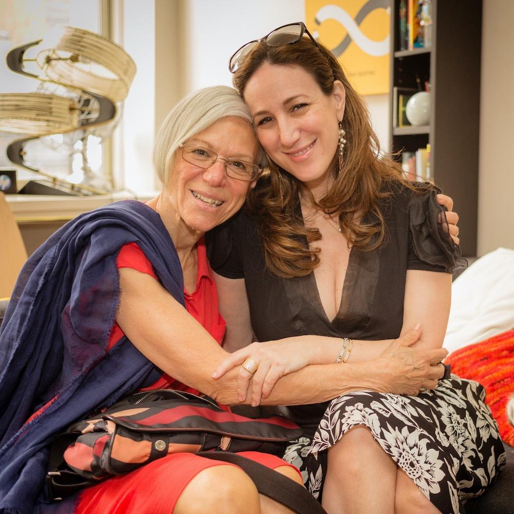 Liz Gumbinner + her mom Nancy Letts on Mother's Day | © Liz Gumbinner for cool mom picks