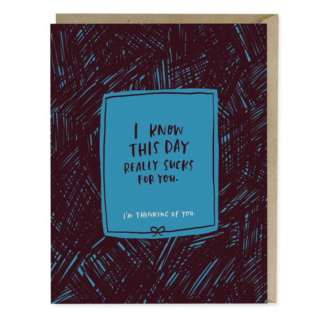 The perfect Mother's Day card for people who struggle with Mother's Day