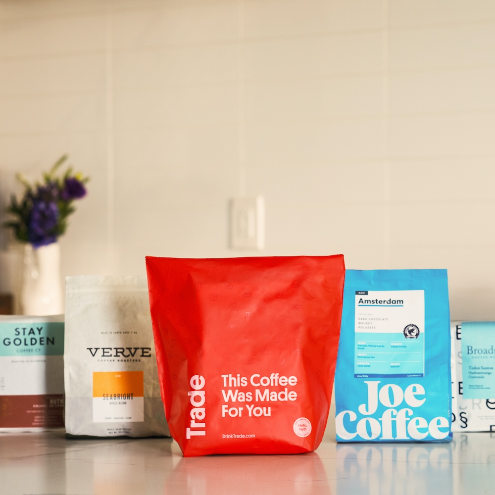 Trade coffee subscription: An amazing Mother's Day gift, totally customized to her tastes and preferences (partner)