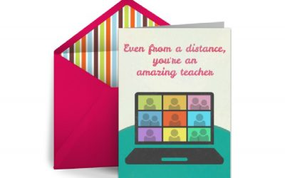 If you can read this, thank a teacher with one of these free, customizable, Teacher Appreciation Week ecards
