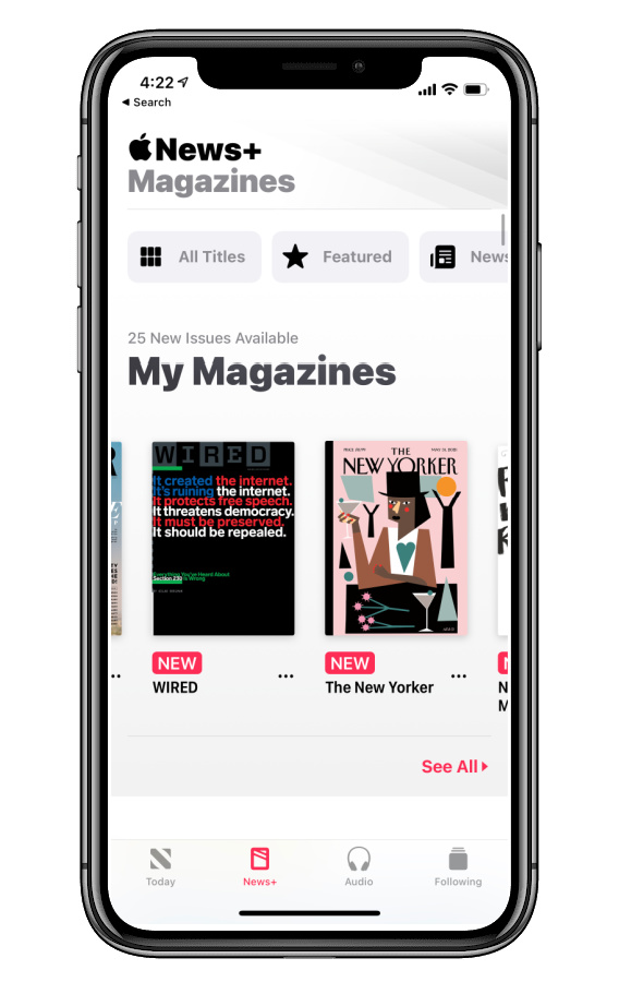 Creative Father's Day gifts for hard-to-shop-for dads: Apple News gift subscription