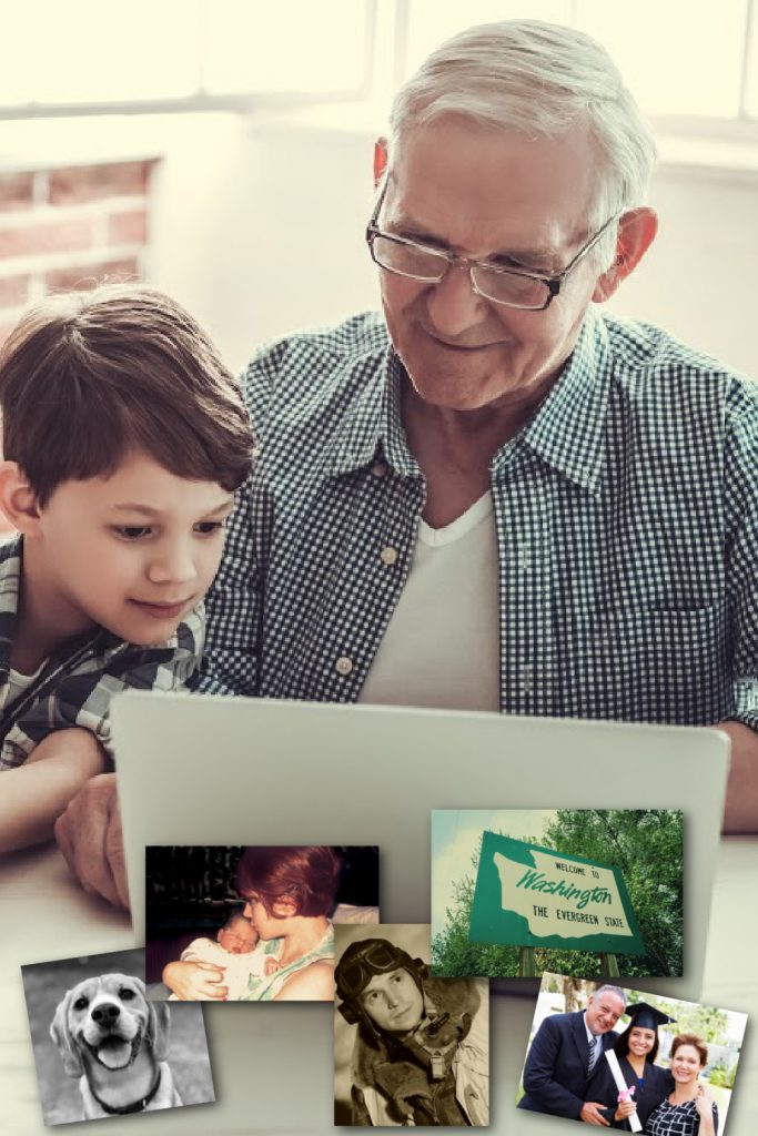 Creative Father's Day gift: create a digital, multimedia time capsule about your family
