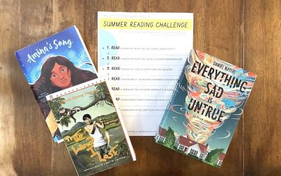 Download this free, printable summer reading list challenge for kids of all ages. (Yes, summer is here!)