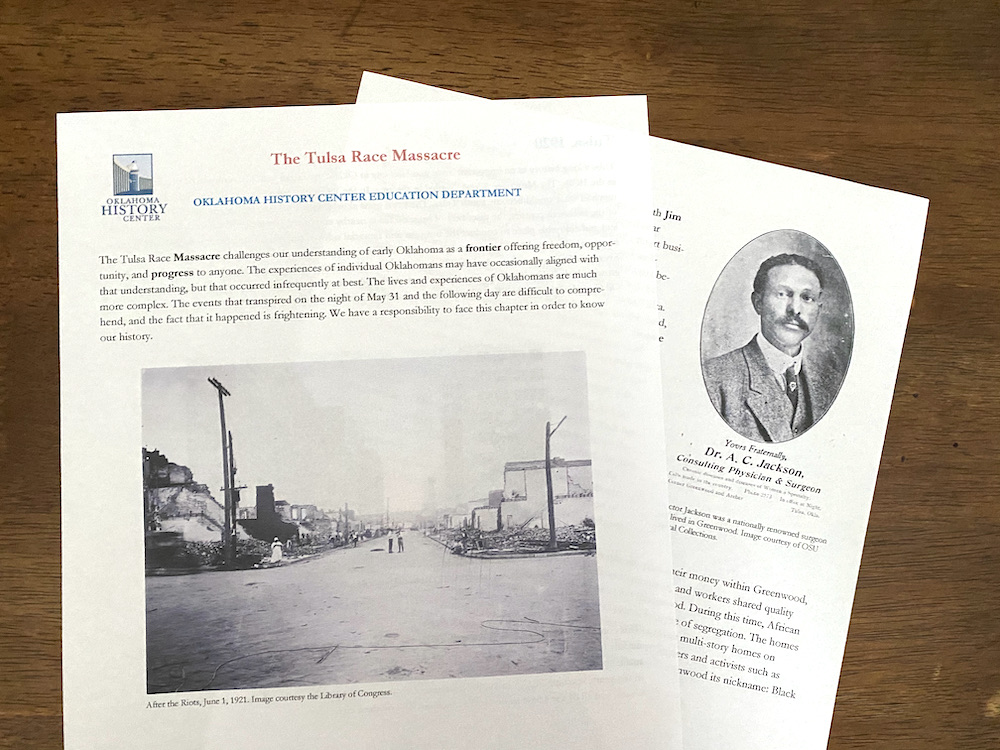 Resources to teach kids about the Tulsa Race Massacre: The 1921 Tulsa Race Massacre Centennial Commission has created curriculum for teens