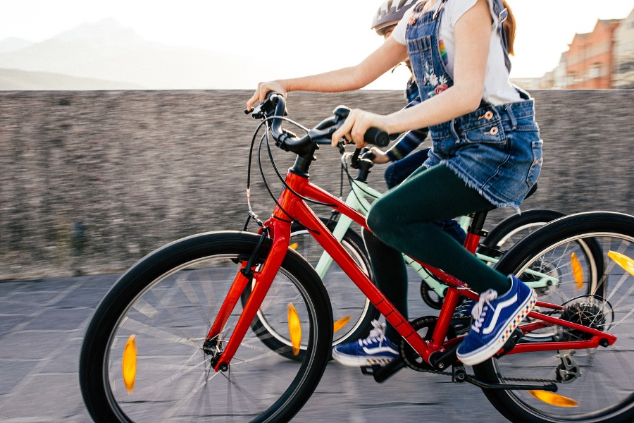 We found a new bike for kids 4-12 that's made to grow with them -- in smarter and safer ways than just raising a seat