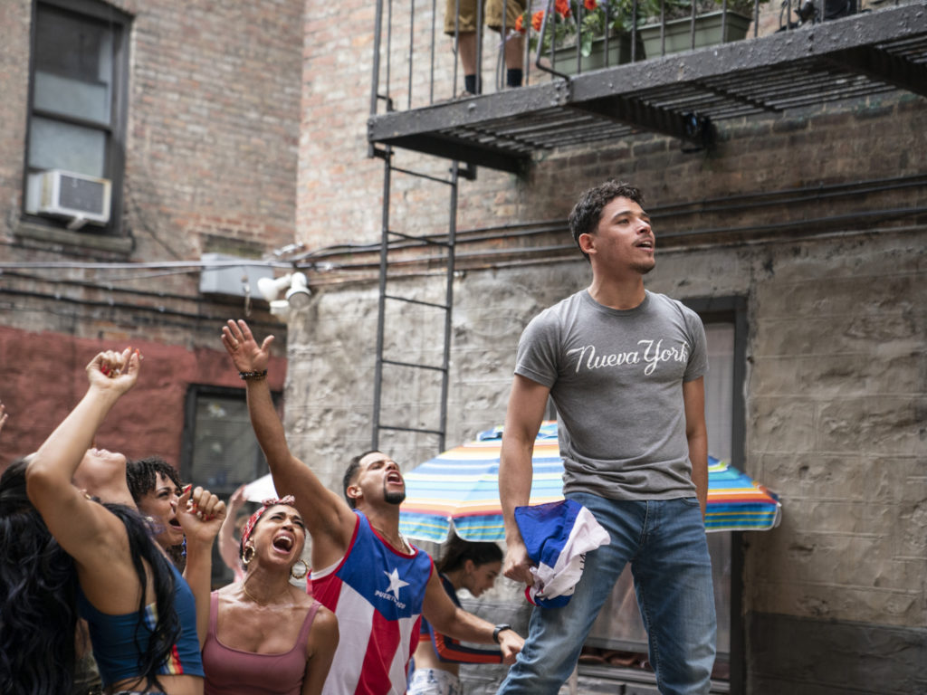 Antony Ramos as Usnavy in In The Heights