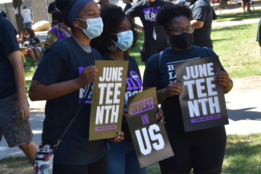 """Elected leaders need to do more than just """"recognize"""" Juneteenth. Tell them to act on these 5 issues."""