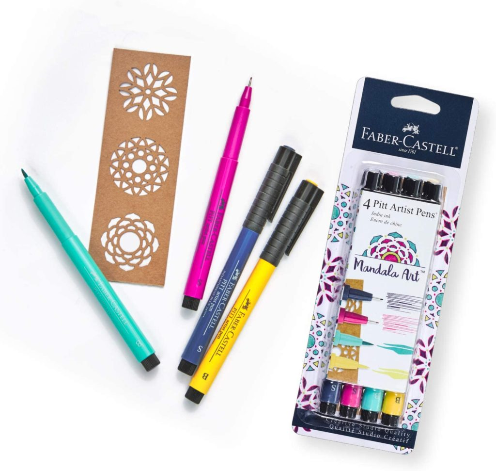 Mandala art gift set is a fabulous summer camp care package gift idea and just $10 on sale!