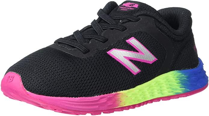 New Balance Arishi running shoes for kids in rainbow