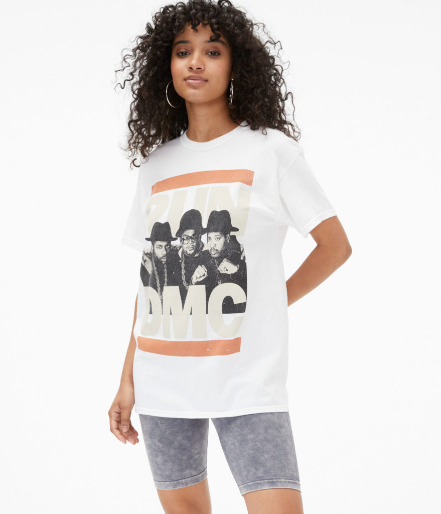 Run DMC band shirts and other graphic tees on sale at Aeropostale: Great care package gifts for camp