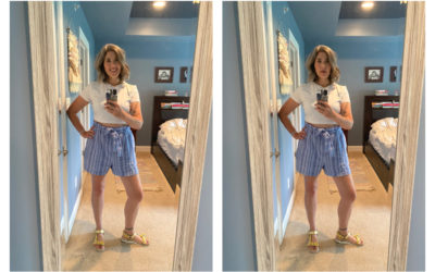 How to wear a crop top in your 40s? However the heck you want!