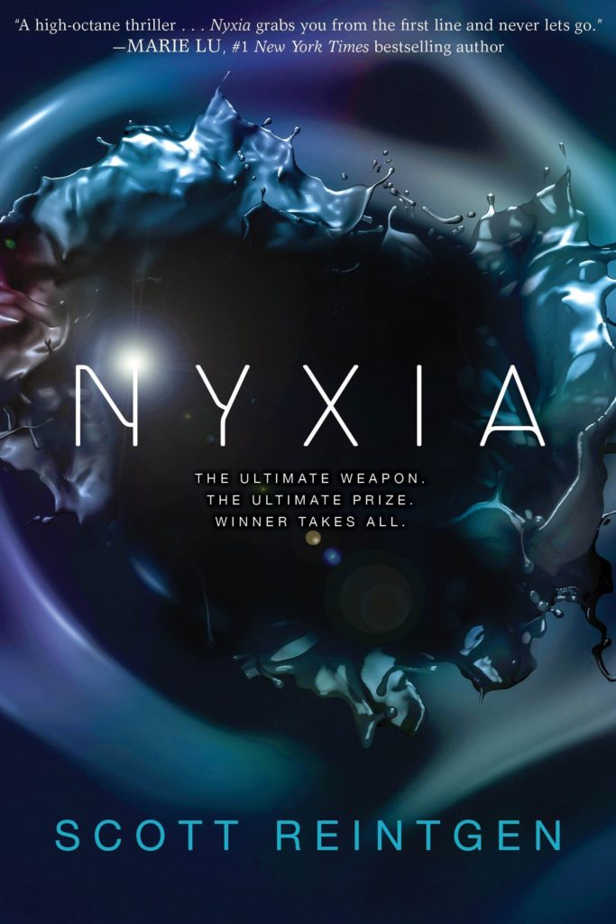 Books for kids who like video games: Nyxia by Scott Reintgen