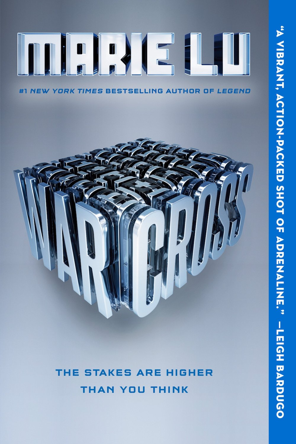 Books for kids who like video games: Warcross by Marie Lu