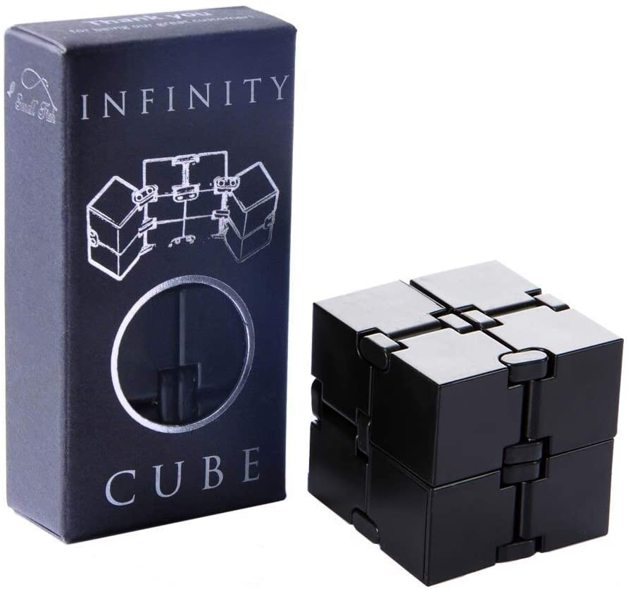7 cool fidget toys that aren't spinners: Infinity cube | Amazon