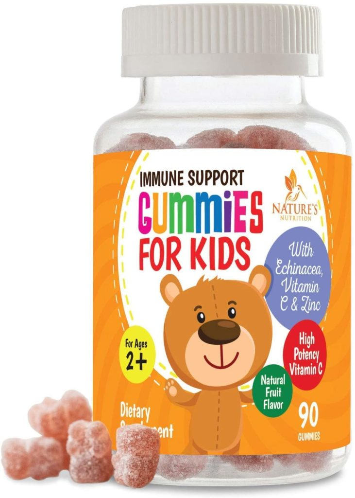 We like these Immune support gummies for kids, just in time for cold and flu season