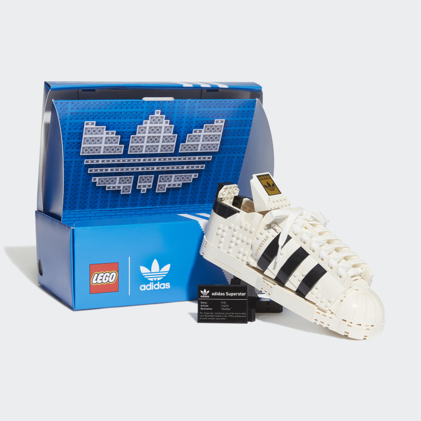 The new Lego x Adidas set of blocks for your favorite runner or sneaker head