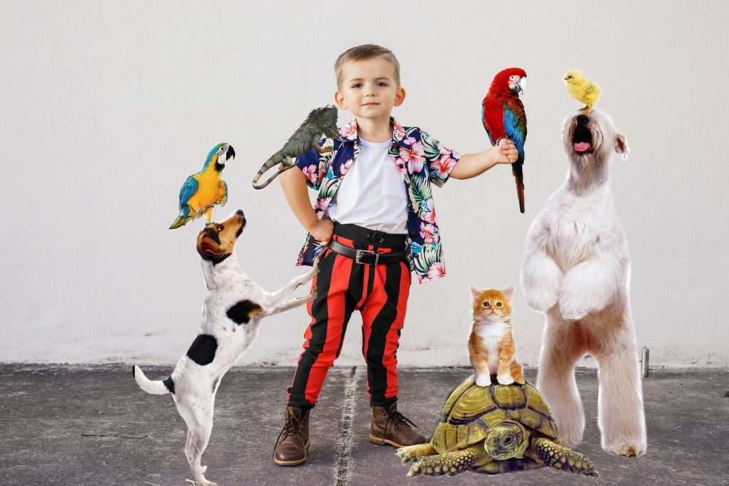 90s Halloween costume ideas for kids: Ace Ventura costume | Me and Reekie Etsy shop