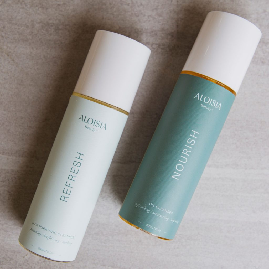 Aloisia Beauty's duo of cleansers are so amazing, they're hard to keep in stock